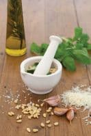 Home Made Ceramic 10cm Mortar and Pestle by KitchenCraft